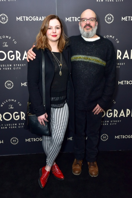 Photo of Amber Tamblyn and David Cross