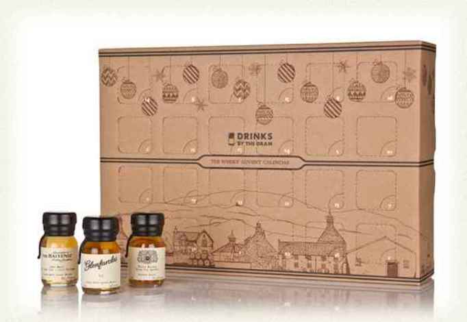 photo of drinks by the dram whiskey advent calendar