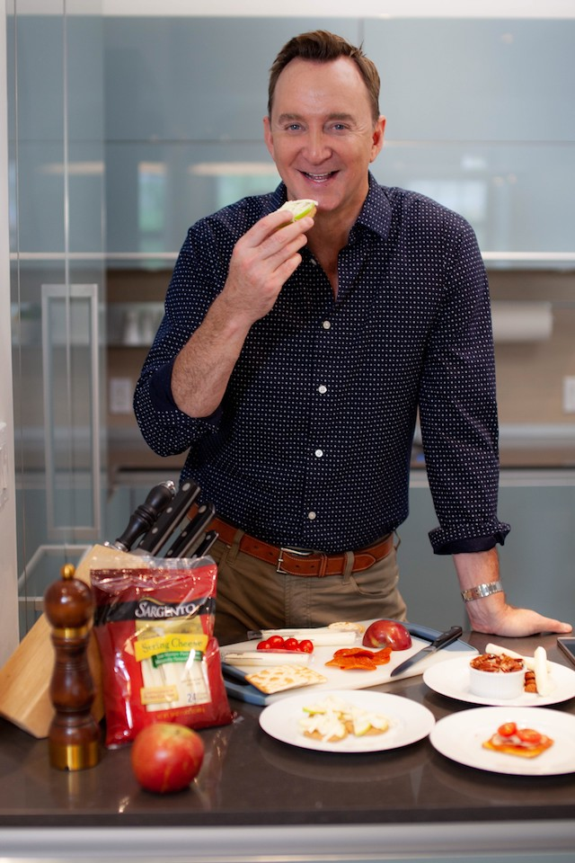Clinton Kelly for Sargento.