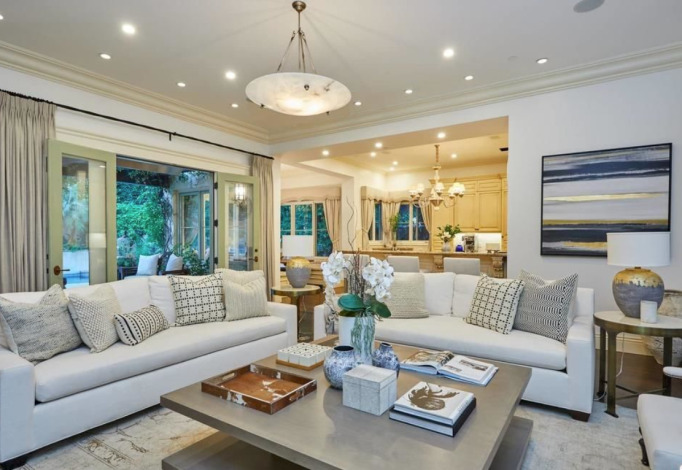 Britney Spears' living room