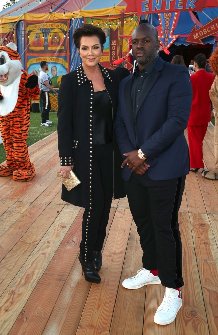 Photo of Kris Jenner and Corey Gamble