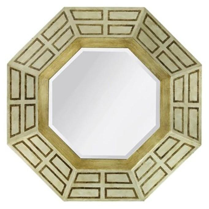 Octagon Framed Mirror