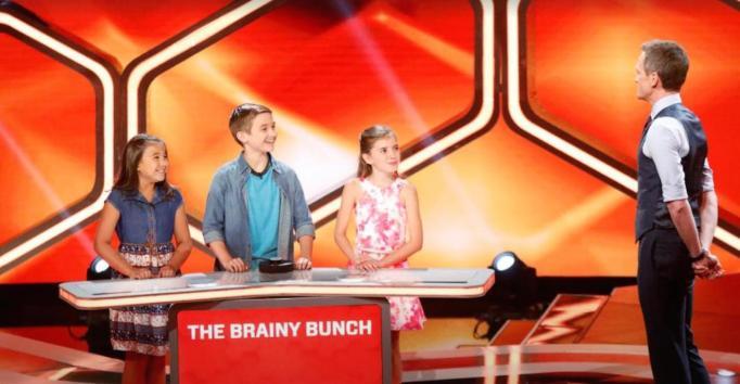 Neil Patrick Harris quizzes kids during Genius Junior