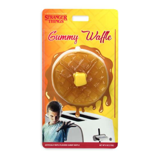 photo of stranger things gummy waffle