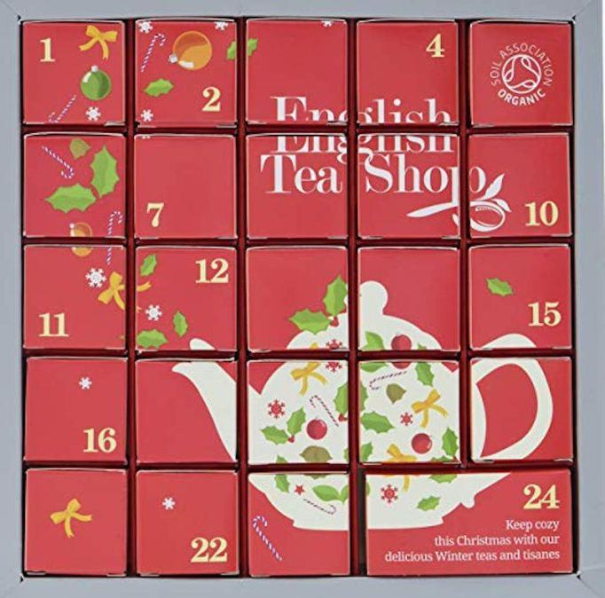 photo of english tea shop advent calendar