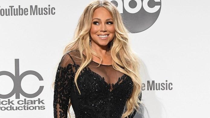 Mariah Carey poses at the 2018