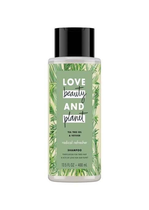 Love Beauty and Planet Tea Tree Oil & Vetiver Radical Refresher Shampoo