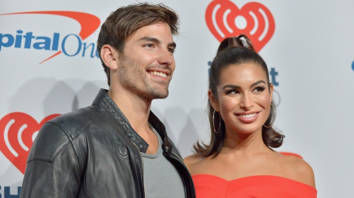Jared Haibon and Ashley Iaconetti attend