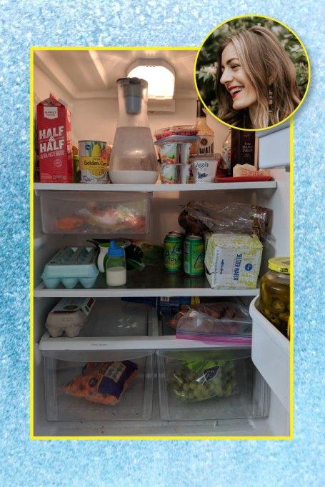 Amelia Edelman's fridge