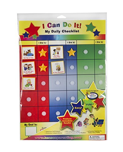 Kenson Kids I Can Do It Checklist