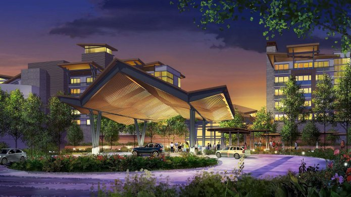Disney proposed artist concept nature-inspired resort