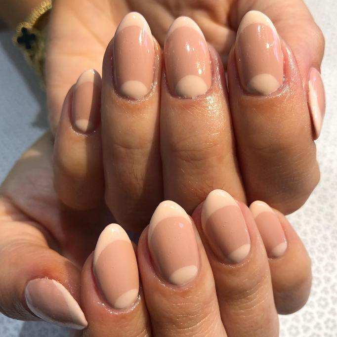 Two-tone nude