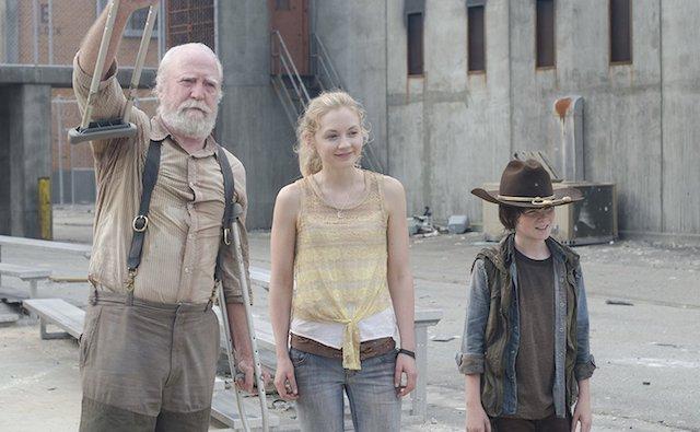 Still of Scott Wilson and Chandler Riggs on AMC's 'The Walking Dead'