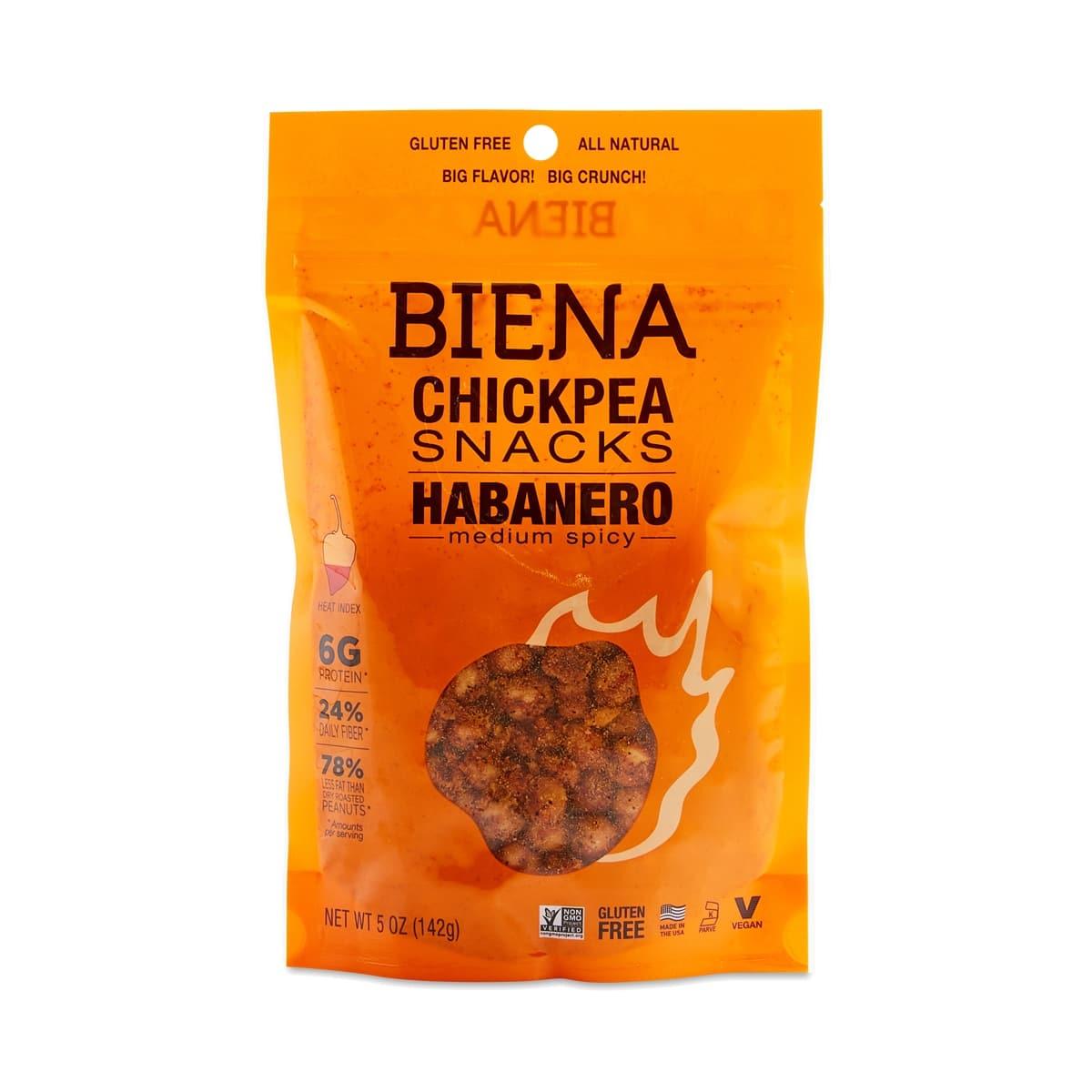 Biena Habanero Roasted Chickpeas