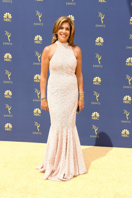 Hoda Kotb attends the 70th Emmy Awards at Microsoft Theater on September 17, 2018 in Los Angeles, California
