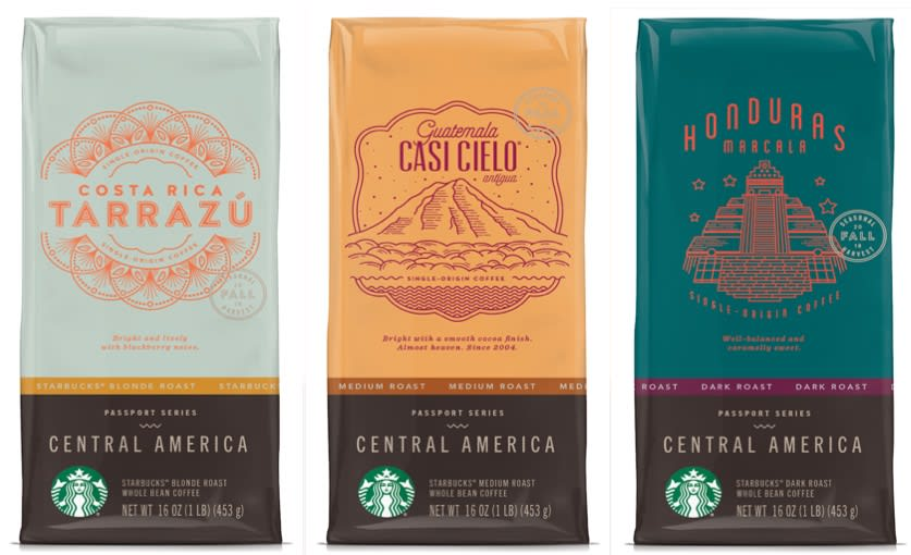 Starbucks Passport Series