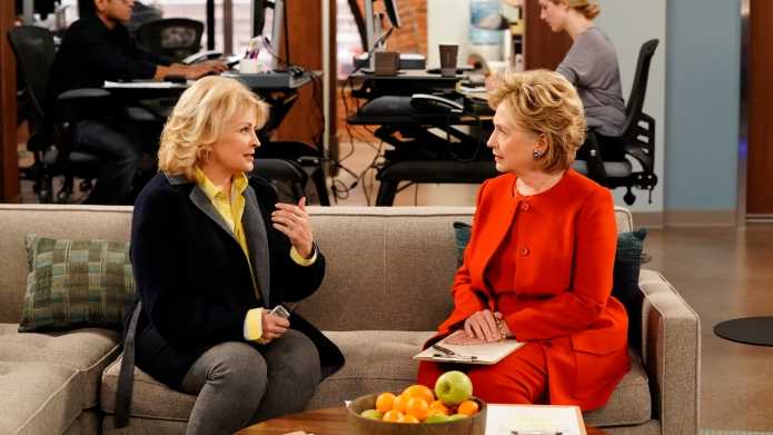Still of Candice Bergen and Hillary