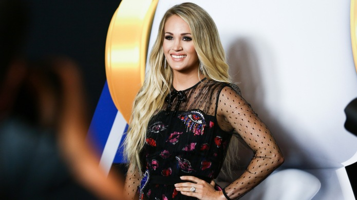 Carrie Underwood attends the 2018 Radio