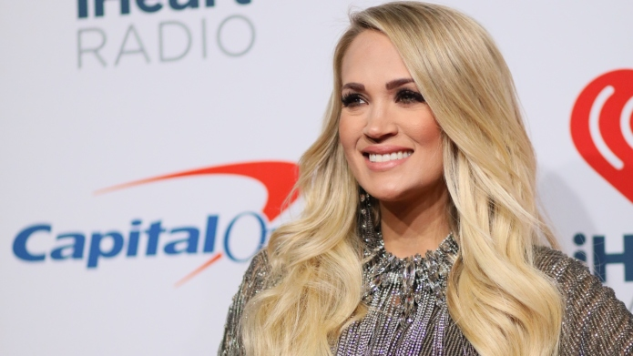 Carrie Underwood attends the 2018 iHeartRadio