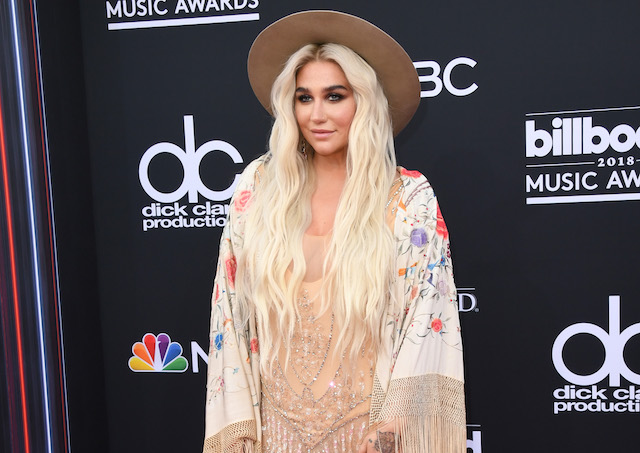 Recording artist Kesha attends the 2018 Billboard Music Awards at MGM Grand Garden Arena