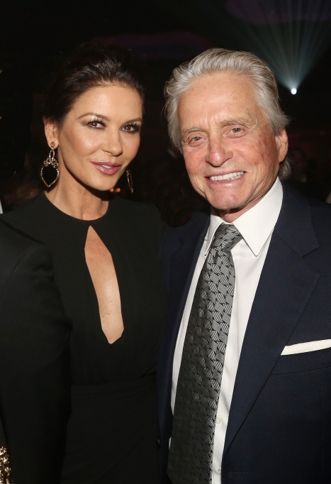 Photo of Catherine Zeta-Jones and Michael Douglas