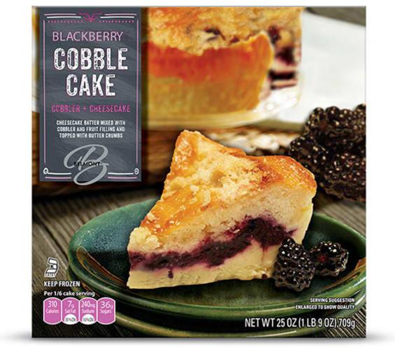 Aldi Belmont Blackberry or Peach Cobblecakes