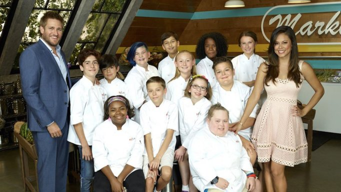 The contestants on the first season of 'Top Chef Junior'