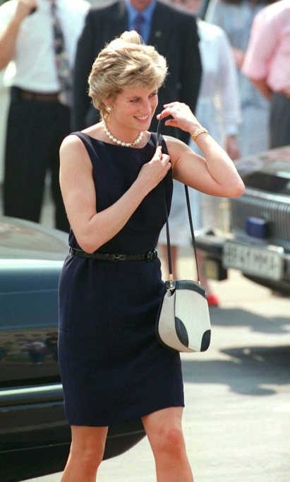 Princess Diana Wearing Black
