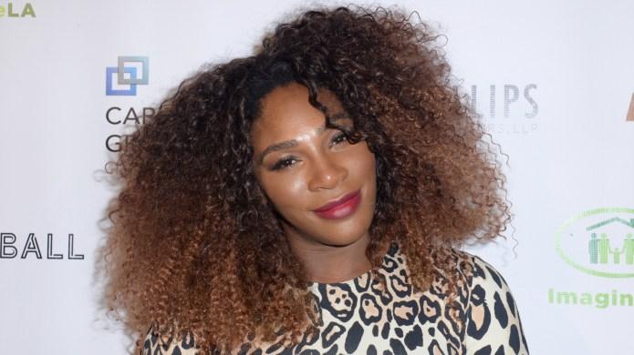 Serena Williams attends The Imagine Ball