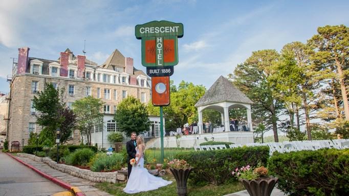 The Crescent Hotel, Eureka Springs, AR.