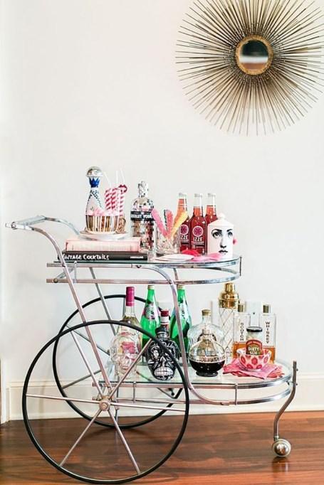 The Prettiest Bar Carts We've Ever Seen