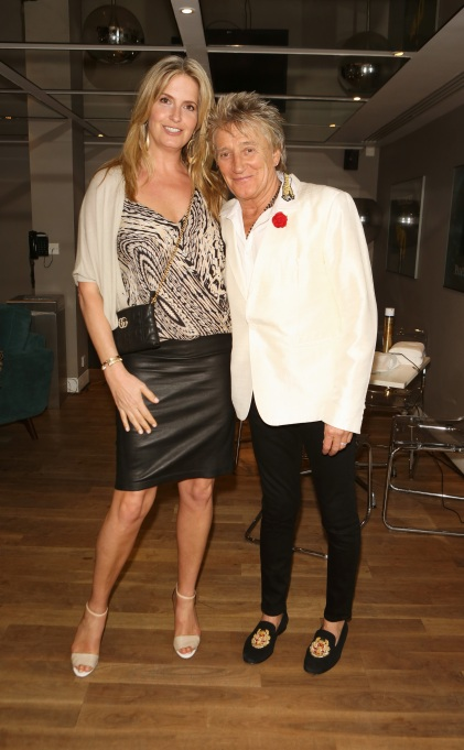 Photo of Rod Stewart and Penny Lancaster