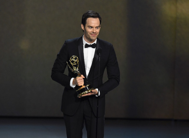 Bill Hader accepts the Outstanding Lead Actor in a Comedy Series award for 'Barry' onstage during the 70th Emmy Awards at Microsoft Theater