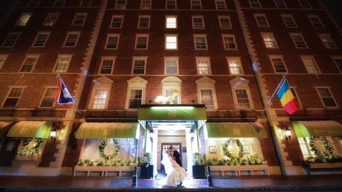 Hawthorne Hotel, Salem, MA.