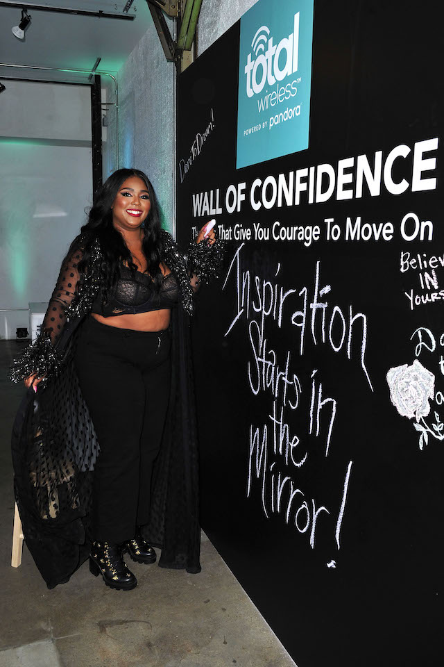Lizzo at the Total Wireless powered by Pandora event