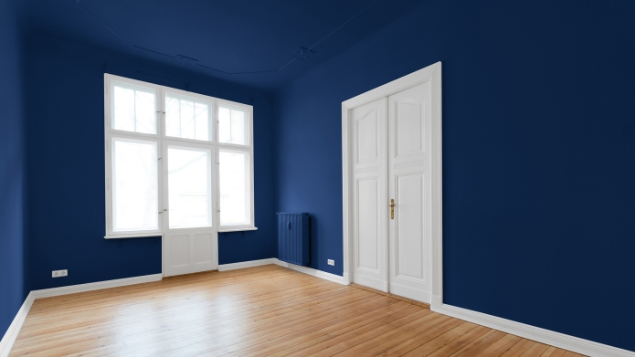 beautiful empty room - apartment after