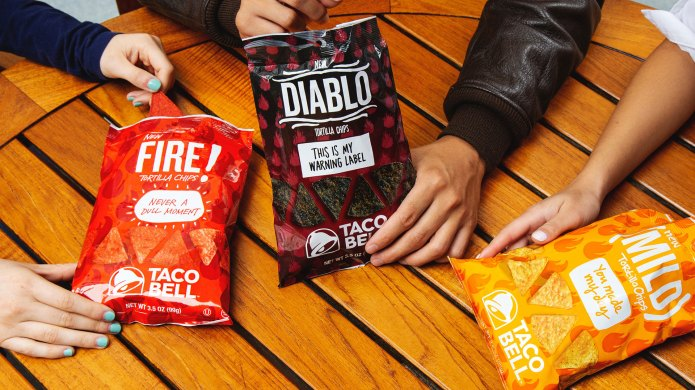 Taco Bell Diablo chips