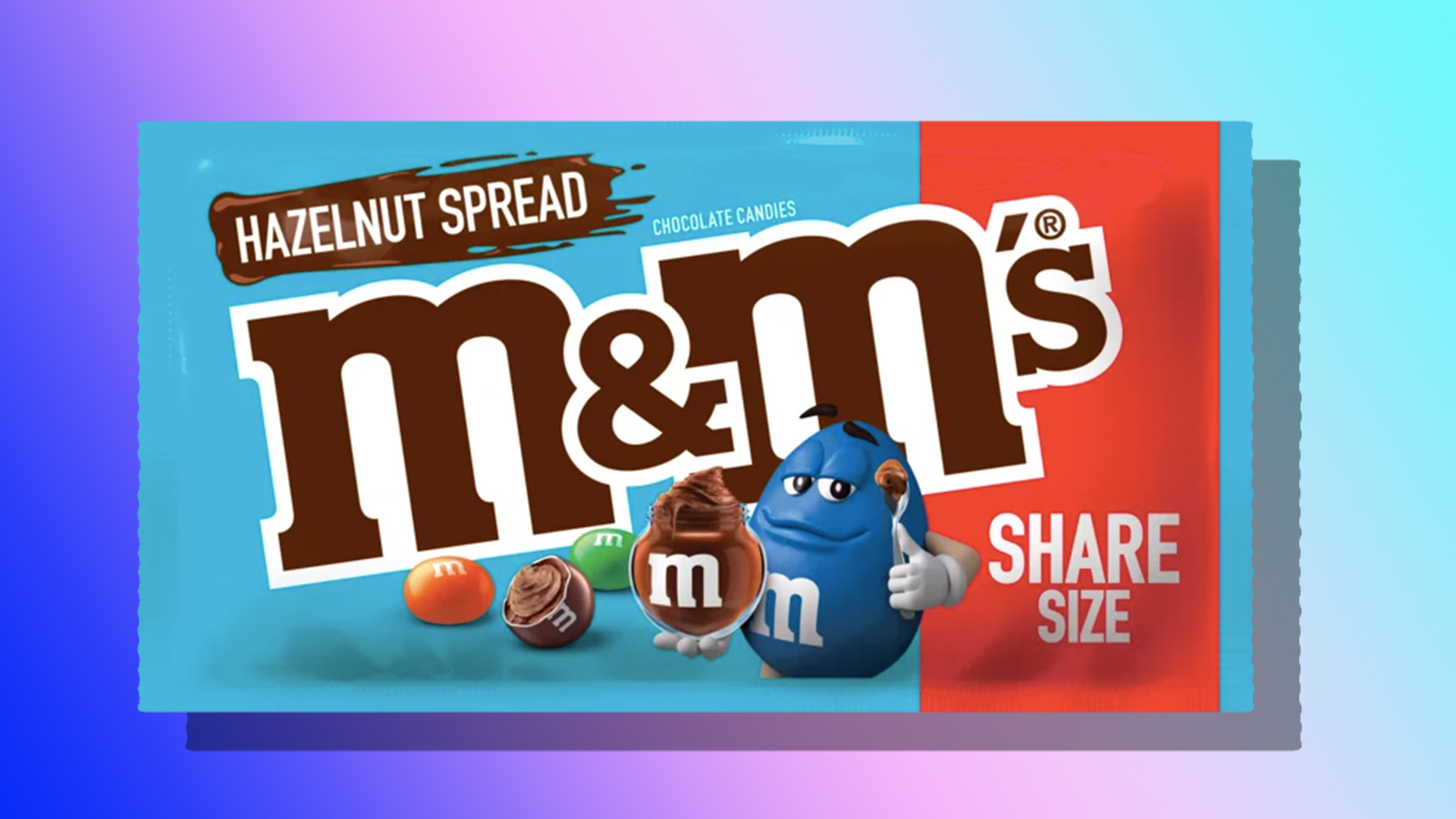Hazelnut Spread (AKA Nutella) M&M's Are Coming, & We're So Excited