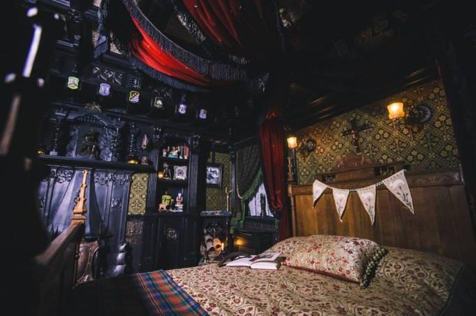 The Haunted Bedroom at Talliston, Great Dunmow, Scotland.
