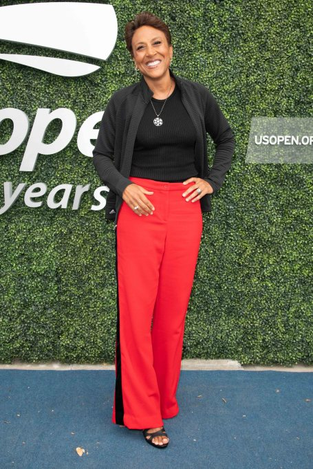 Robin Roberts attends day 13 of the 2018 US Open