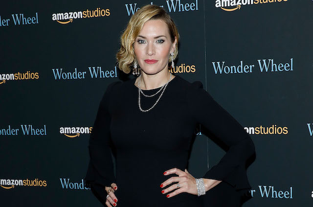 Kate Winslet attends the premiere of 'Wonder Wheel' at Museum of Modern Art