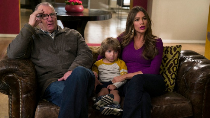 Still of Ed O'Neill and Sofia