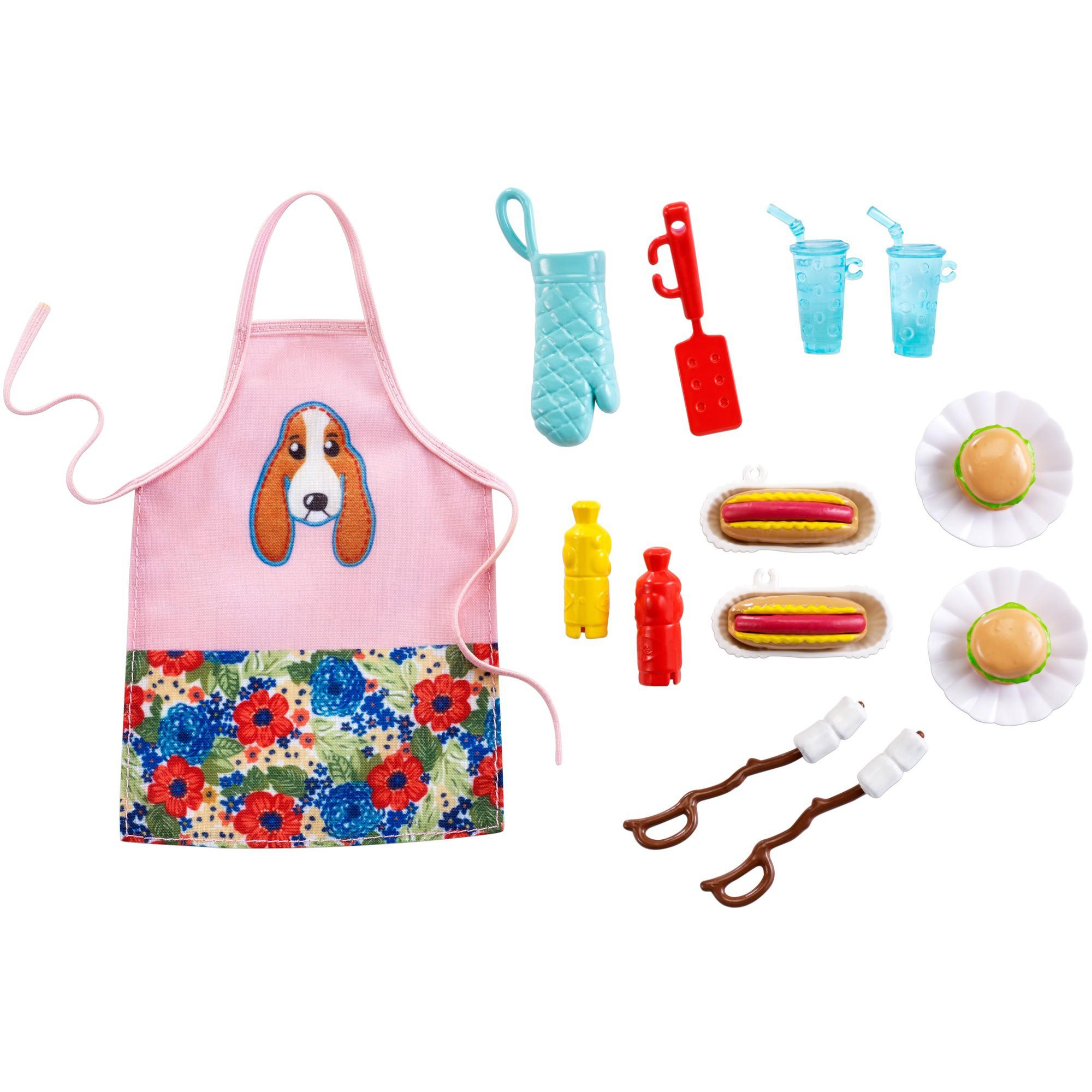 Ree Drummond Barbie set BBQ