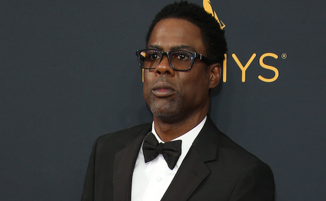 Chris Rock attends the 68th Annual Primetime Emmy Awards at Microsoft Theater on September 18, 2016 in Los Angeles, California.