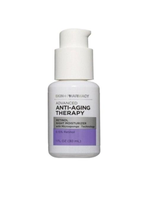 Skin + Pharmacy Advanced Anti-Aging Therapy Retinol Night Moisturizer