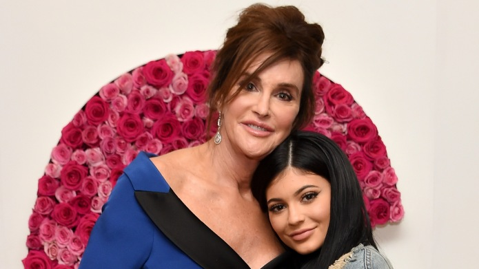 caitlyn jenner with kylie jenner