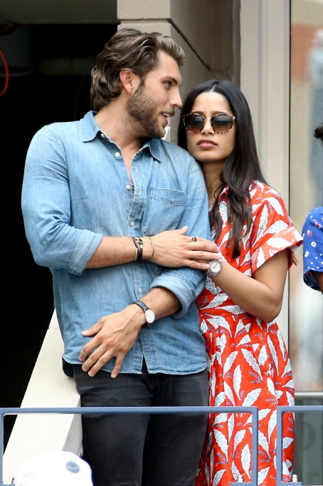 Freida Pinto and boyfriend Cory Tran