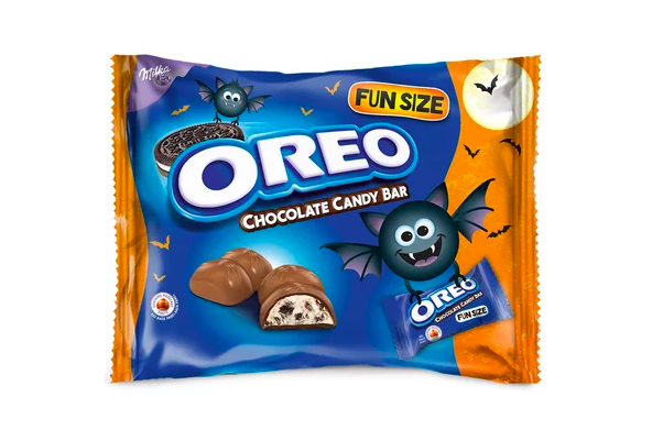 fun size oreo chocolate candy bars