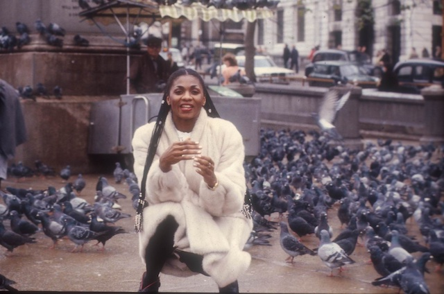 Marcia Barrett in London, England in 1981