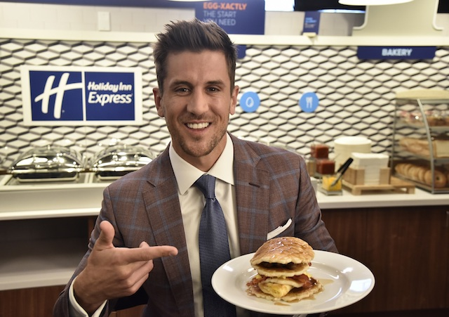 Jordan Rodgers for Holiday Inn Express